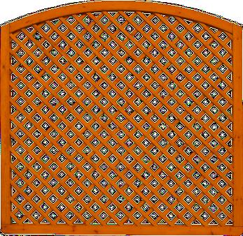 Kratka Massive 180x180cm z łukiem