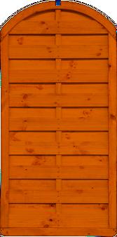 Płot Massive 90x180cm z łukiem